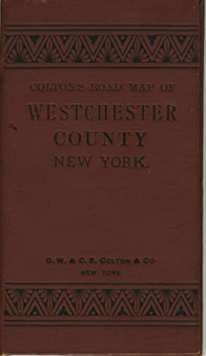 Colton's Road Map of Westchester County, New York