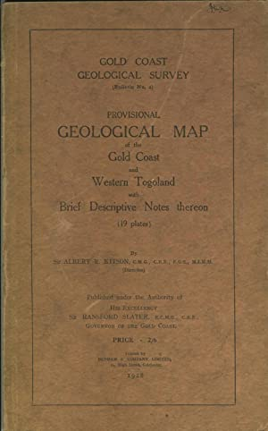 Gold Coast Geological Survey - Provisional Geological Map of the Gold Coast and Western Togoland ...