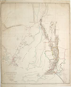 South Australia Shewing the Division into Counties of the Settled Portions of the Province from t...