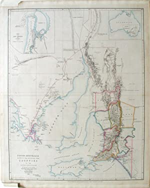 South Australia Shewing the Division into Counties of the Settled Portions of the Province With s...