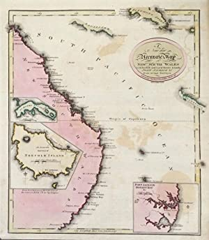 A New and Accurate Map of New South Wales with Norfolk and Lord Howe's Islands Port Jackson & c. ...