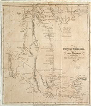 'Western Australia from the Latest Documents Received in the Colonial Office', One of the earlies...