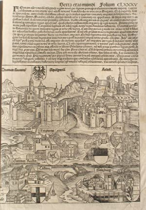 Liber chronicarum- Nuremberg Chronicle, an individual page: Schedel, Hartmann; Wolgemuth,