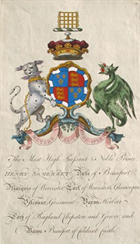 Family Crest of The Most High, Puissant: Segar, Sir William