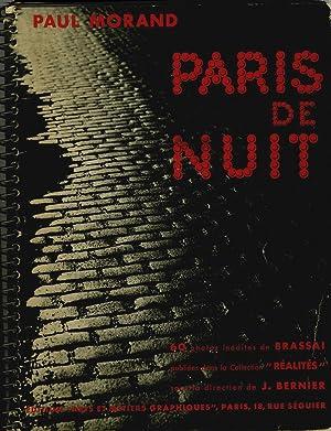 Paris De Nuit: Brassai] Morand, Paul