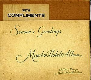 Season's Greetings; Miyako Hotel Album; I. Takino,: Japan; Hotels]