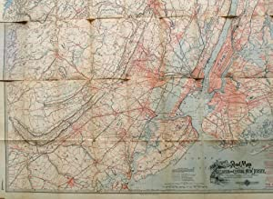 Kobbe's Large Scale Road Map of Northern and Central New Jersey, with the Long Island, Staten ...