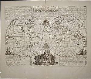 Mappe-Monde pour Connoitre les Progres & les Conquestes les Plus Remarquables des ...