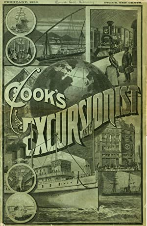 Cook's Excursionist and Tourist Advertiser. Advertising newspaper
