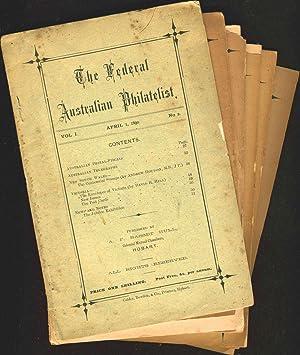 Run of 6 issues of The Federal Australian Philatelist magazine: Philately; Australia]