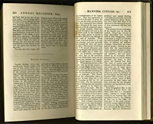The Annual Register, or a View of the History, Politics, and Literature, of the Year 1828