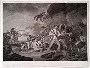 The Death of Captain James Cook by the Indians of O,why,ee, one of the Sandwich Islands