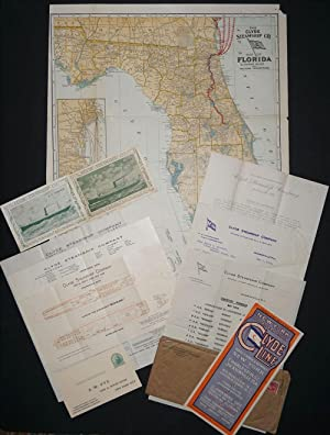 Archive of material on Clyde Steamship Line, New York