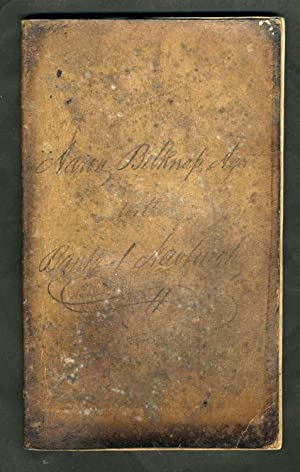 1836 - 1839 Ledger Book Bank of Newburgh NY, of Aaron Belknap [with] check dated 1839