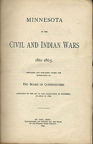 Minnesota Civil War veteran's copy of 'Minnesota in the Civil and Indian Wars 1861 - 1865&...