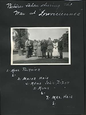 Photographic album of a pre-WWI tour in Europe and India, Kashmir & France, concluding during WWI...