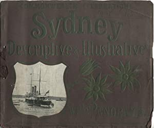 Commonwealth Celebrations. Sydney Descriptive & Illustrative with Panorama