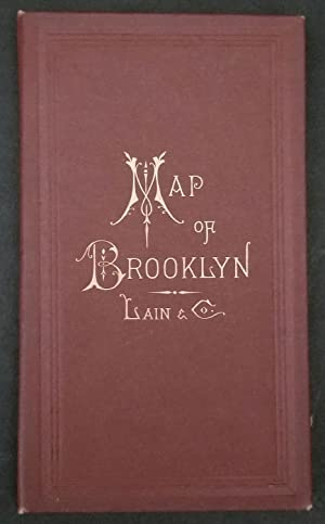 New Map of Brooklyn and Vicinity