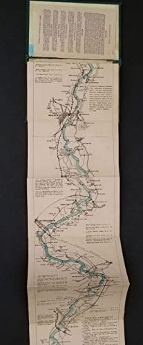 The Oarsman's and Angler's Map of the River Thames: Thames; Fishing Map] Ravenstein, E. G.