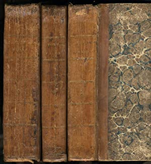 The Port Folio. Three bound volumes with issues 1809, 1811, 1812, 1813, 1814 including tribute to...
