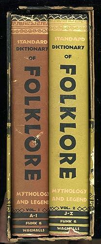 Funk & Wagnalls Standard Dictionary of Folklore: Leach, Maria ed