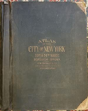 Atlas of New York City, 23rd & 24th Wards Borough of the Bronx