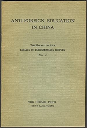 Anti-Foreign Education in China