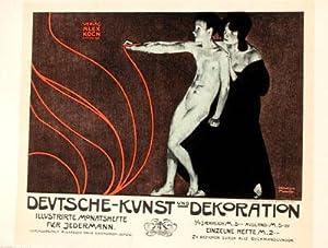 Deutsche-Kunst und Dekoration, Les Maitres de l'Affiche: Witzel.
