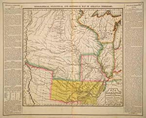Geographical, Historical, And Statistical Map Of Arkansas: Long, Stephen H.,