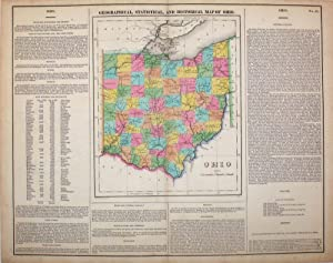 Geographical, Statistical, and Historical Map of Ohio