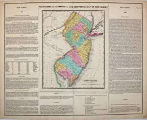 Geographical, Statistical, and Historical Map of New Jersey
