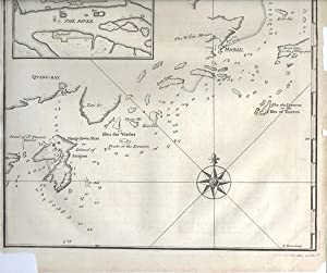 A Chart of the entrance into Kanton from the Sea. Humbly Inscribed to the Rt. Honourable Lord Ver...