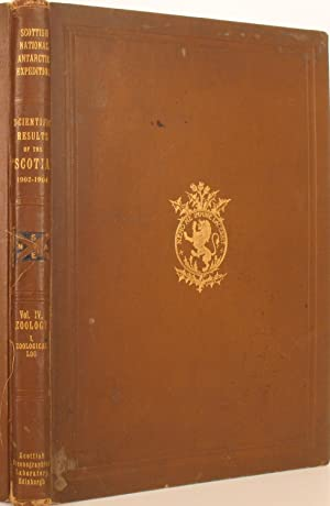 Report on the Scientific Results of the Voyage of S.Y. Scotia during the Years 1902, 1903 & 1904 ...