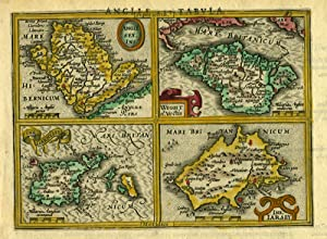 Anglesey Ins. [on sheet with] Wight ol.: Mercator, Gerhard