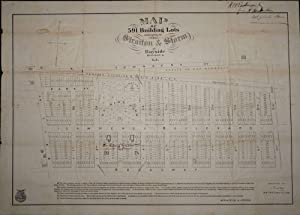 Map of 591 Building Lots belonging to Mess. Straiton & Storm at Bayside Queens Co. L. I.