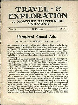 "Travel & Exploration"" Magazine"
