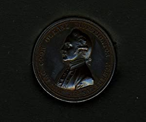Royal Society Memorial Medal of Captain James Cook