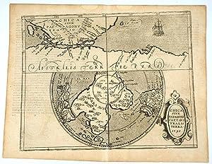 Chica Sive Patagonia et Australis Terra: Metellus, J.N. [Antarctic Map]