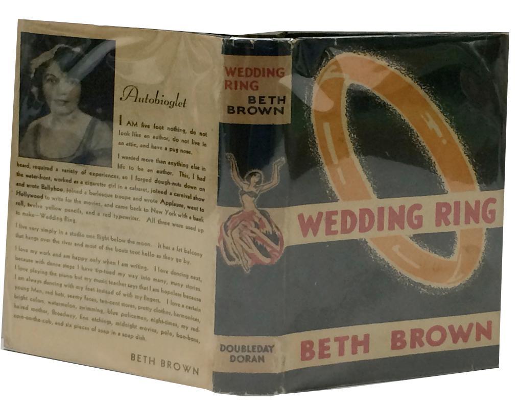 Wedding_Ring_Brown,_Beth_[Very_Good]_[Hardcover]