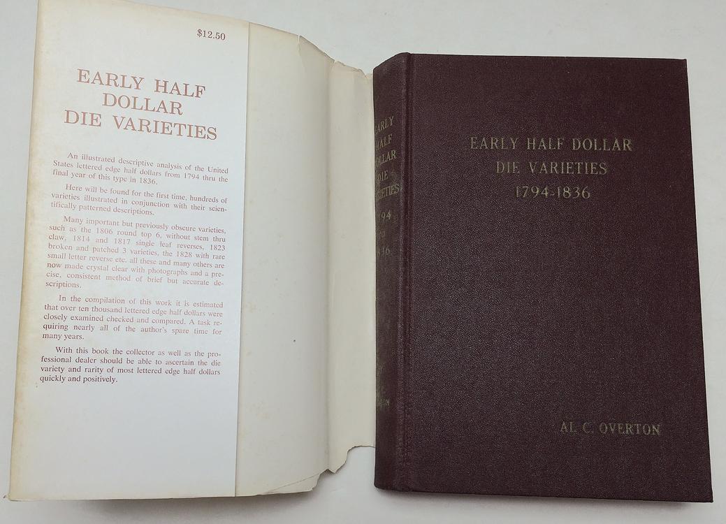Early Half Dollar Die Varieties 1794-1836-5th Top 100 R-4 /& R-5 RAG 2 NEW Books