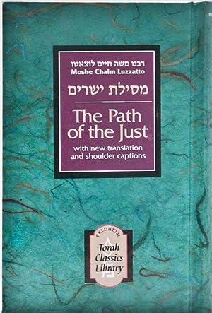 Path of the Just (Torah Classics Library),: LUZZATTO Rav Moshe