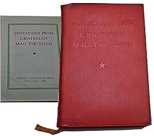 Quotations from Chairman Mao Tse-Tung: Tse-Tung, Mao