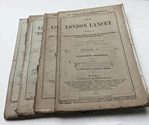The London Lancet, journal of British and: Wakley, Thomas (Ed.)