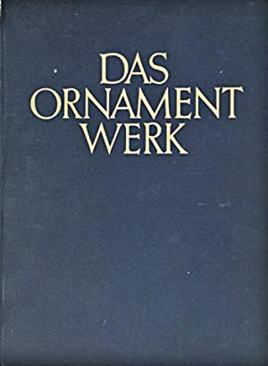 Das Ornament Werk: Bossert, Th