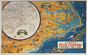 Eastern North Carolina, a vacationist's map and guide