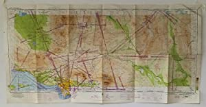 Los Angeles Flight Plan R-2, sectional aeronautical chart