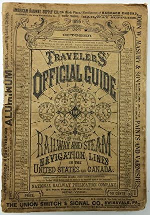 Travelers' Official Guide of the Railway and: Allen, W. F.