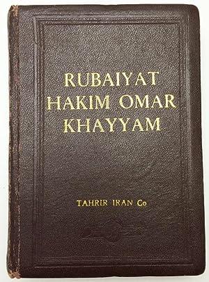The Quatrains of Abolfat' H Ghia'th-e-din Ebrahim: Khayyam, Omar