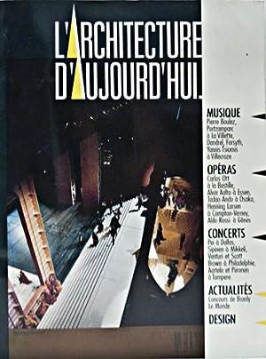 L'Architecture d'Aujourd'hui: April 1990: Chaslin, Francois (Ed.)