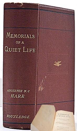 Memorials of a Quiet Life: Hare, Augustus J.